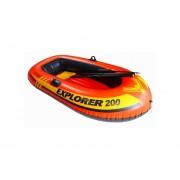 Inflable Para Alberca Intex Bote Explorer 200 Remos - Rojo