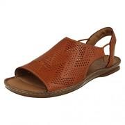 Clarks Women's Sarla Cadence Tan Loafers and Moccasins - 3.5 UK/India (36 EU)