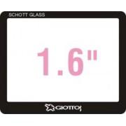 Giottos SP6160 Professional Glass Optic Screen Protector pentru camere cu ecran LCD de 1.6