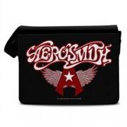 Aerosmith Flying A Logo Messenger Bag, Messenger Shoulder Bag