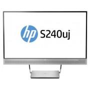 "HP EliteDisplay S240uj Wireless Charging Monitor - Monitor LED - 23.8"" (23.8"" visível) - 2560 x 1440 - IPS - 300 cd/m² - 1000:1"