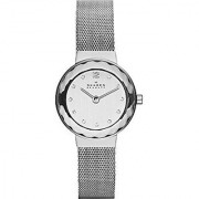 Skagen Analog Silver Round Women's Watch-456SSS