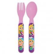Disney Prinsessor Plastbestick Rosa - Rapunzel