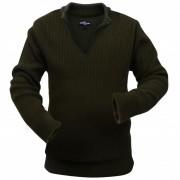 vidaXL férfi pulóver méret: XXL katona zöld