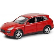 Rmz City Die Cast Porsche Cayenne Turbo, Matte Red (5-inch)