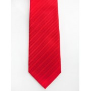 Lowes Diagonal Stripe Red Tie