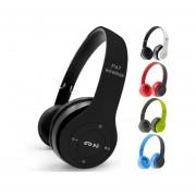 Audífonos Bluetooth, P47 Auricular Manos Libres Deportivos Bluetooth Inalámbricos Estéreo Plegables Auriculares Con Micrófono Con Soporte TF Tarjeta De Radio FM
