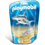 PLAYMOBIL Hammerhead Shark with Baby Building Set
