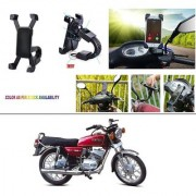 AutoStark Motorcycle Mount Cell Phone Holder/Installed to Motorcycle Rearview mirror Phone Mount For Yamaha RX 100