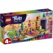 Конструктор Лего Тролчетата - Приключение със сал, LEGO Trolls World Tour, 41253