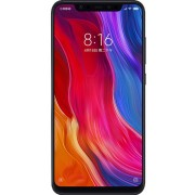 "Telefon Mobil Xiaomi Mi 8, Procesor Octa-Core 2.8GHz/1.8GHz, Super AMOLED capacitive touchscreen 6.21"", 6GB RAM, 128GB Flash, Camera Duala 12+12MP, Wi-Fi, 4G, Dual Sim, Android (Negru) + Cartela SIM Orange PrePay, 6 euro credit, 6 GB internet 4G, 2,000 mi"