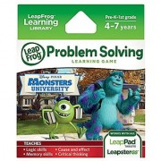 LeapFrog Disney Pixar Monsters University Learning Game (works with LeapPad Tablets LeapsterGS and Leapster Explorer)