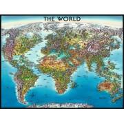 Puzzle Ravensburger - Harta Lumii, 2000 Piese