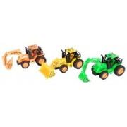Jysk Partivarer Traktorer med redskaber - Förpackning med 3 st