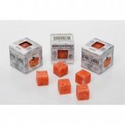 Viasz kocka illatos 3x3x3cm narancs (8db/csom)