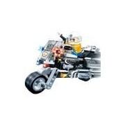 Blocos de Montar Banbao Kit Polícia Moto - 140 Peças
