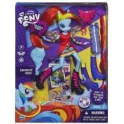 Papusa My Little Pony Equestria Rainbow Dash cu Accesorii A4121