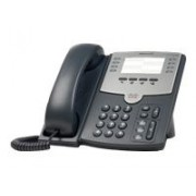 Cisco Small Business SPA 501G - Téléphone VoIP - SIP, SIP v2, SPCP - multiligne - argenté(e), gris foncé - pour Small Business Pro Unified Communications 320 with 4 FXO