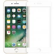 Folie protectie ZMEURINO ZMVIP_IPHP678WH Sticla Securizata Full Body 3D Curved Alb pentru Apple iPhone 7 Plus, iPhone 8 Plus