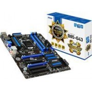 MSI B85-G43 - Carte-mère - ATX - Port LGA1150 - B85 - USB 3.0 - Gigabit LAN - carte graphique embarquée (unité centrale requise) - audio HD (8 canaux)