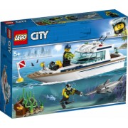 LEGO and reg City Great Vehicles - Iaht pentru scufundari 60221