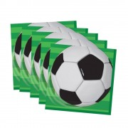 Football Party Napkins (Pack of 16)