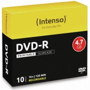 Intenso DVD-R INTENSO Slim Case (bedruckbar)