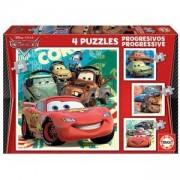 Детски пъзел 14942 Educa Cars 2, 4 броя, 8412668149427