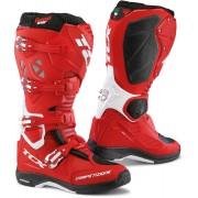 TCX Comp Evo 2 Michelin Botas de Motocross Blanco Rojo 44