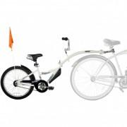 Bicicleta copii Co-Pilot WeeRide, 4-9 ani, 20 inch, Alb