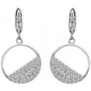 Hot Diamonds Inel din argint cu cercei Horizon Topaz DE621