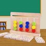 Bebe Juguete Juego De Coincidencia De Color Montessori Cuatro Colores Para La Educación De La Primera Infancia Preescolar Formación Learning Toys