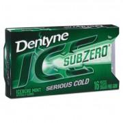 Sugarless Gum, Iceberg Mint, 16 Pieces/pack, 9 Packs/box