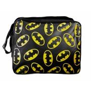 Batman messenger bags met patroon gele Batlogo's