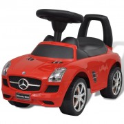 vidaXL Mercedes Benz Foot-Powered Kids Car Red