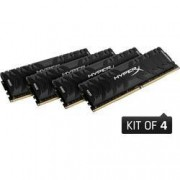 HyperX Sada RAM pro PC HyperX Predator HX432C16PB3K4/32 32 GB 4 x 8 GB DDR4-RAM 3200 MHz CL16-18-18-32