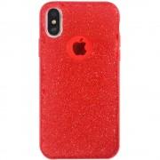 Husa Capac Spate Shine Rosu APPLE iPhone X, iPhone Xs STAR