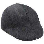 Tahiro Black Striped Cotton Golf Cap - Pack Of 1