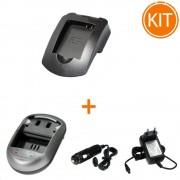 Kit Incarcator Power3000 pentru Canon tip NB-6L/NB-6LH + Bonus adaptor auto