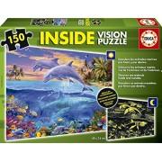 Educa Borras Underwater World Inside Vision Puzzle (150 Pieces)