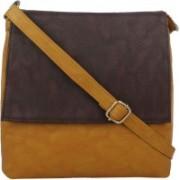 LI LEANE Beige, Brown Sling Bag