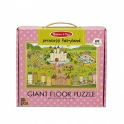 Primul meu puzzle de podea eco Tinutul Printelesor - Melissa & Doug
