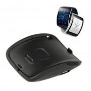 Draagbare quick opladen met usb-kabel, opladen Dock Charger Cradle voor Samsung Galaxy Gear S Smart Horloge SM-R750