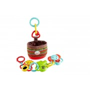 Fisher-Price Link-n-Go Play Pack, Activity Toy with Mirror, Rattle ...