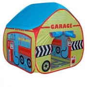 Pop It Up Childrens Garage Play Tent with Road Playmat from Pop it Up Pop It Up