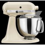 KitchenAid Küchenmaschine Artisan 4,8l, Creme 8tlg. Metall