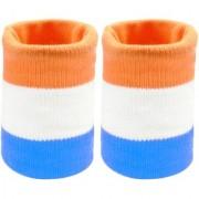 Neska Moda Unisex Multicolor Cotton Wrist Band WB05