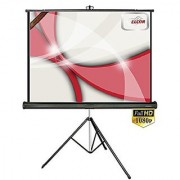 ELCOR Tripod projector screens 5ft x 7ft with 100 Diagonal In HD 3D 4K Technology