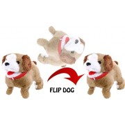 Jiada Fantastic Puppy Jumping Soft Toy | Walking Barking Somersault Action