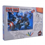 Puzzle 100 piese Captain America